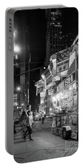 Knish, New York City  -17831-17832-bw Portable Battery Charger