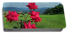 Portable Battery Charger featuring the photograph Knockout Rose 2 by Aaron Martens