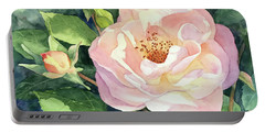 Knockout Rose And Buds Portable Battery Charger