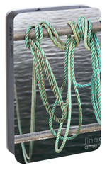 Portable Battery Charger featuring the photograph Knot Of My Warf II by Stephen Mitchell