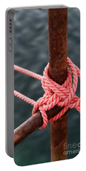 Portable Battery Charger featuring the photograph Knot On My Warf IIi by Stephen Mitchell