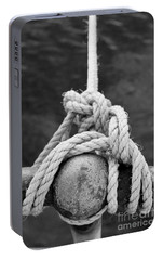 Portable Battery Charger featuring the photograph Knot On My Warf Iv by Stephen Mitchell