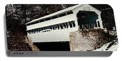Knox Covered Bridge Historical Place Portable Battery Charger