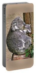Koala Mom And Child Portable Battery Charger