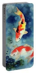 Koi Fish 3  Portable Battery Charger