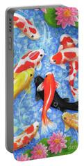 Koi Fish Portable Battery Charger