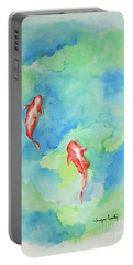 Koi Summer Portable Battery Charger