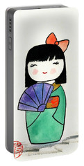 Kokeshi Doll Portable Battery Charger