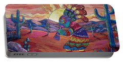 Kokopelli Sunset Portable Battery Charger