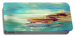 Portable Battery Charger featuring the painting Kokovoko by Tatiana Iliina