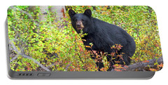 Fall Bear Portable Battery Charger