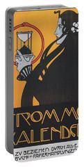 Koloman Moser Plakat  Fur Frommes Kalender 1899 Portable Battery Charger