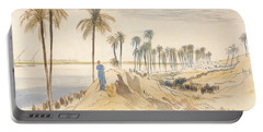 Kom El Amhr, 1 Pm, 4 January 1867 Portable Battery Charger