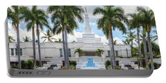Kona Hawaii Temple-day Portable Battery Charger