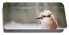 Portable Battery Charger featuring the photograph Kookaburra by Ivy Ho