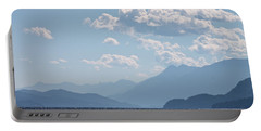 Kootenay Lake South Portable Battery Charger by Cathie Douglas