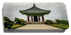 Portable Battery Charger featuring the photograph Korean Bell Of Friendship by Ed Clark