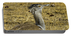 Kori Bustard On The Serengeti Portable Battery Charger