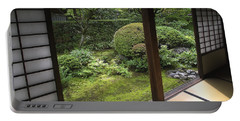 Koto-in Zen Temple Side Garden - Kyoto Japan Portable Battery Charger