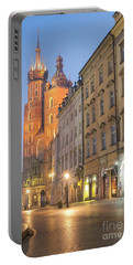 Portable Battery Charger featuring the photograph Krakow by Juli Scalzi