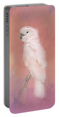 Kramer The Moluccan Cockatoo Portable Battery Charger by Theresa Tahara