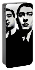 Kray Twins Portable Battery Charger by Luis Ludzska