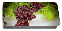 Krissy Gold Grapes Portable Battery Charger