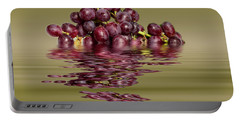 Krissy Gold Grapes To Wine Portable Battery Charger by David French