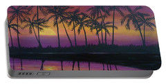 Kristine's Sunset Portable Battery Charger