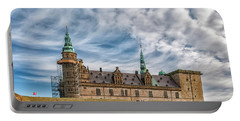Portable Battery Charger featuring the photograph Kronborg Castle In Denmark by Antony McAulay