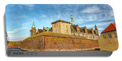 Portable Battery Charger featuring the photograph Kronborgsslott In Helsingor by Antony McAulay