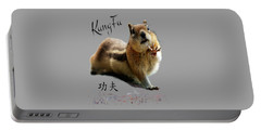 Kung Fu Chipmunk Portable Battery Charger