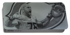 Kyle Long Portrait Portable Battery Charger