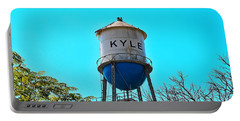 Kyle Texas Water Tower Portable Battery Charger