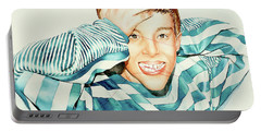 Kyle's Smile Or Fragile X Stressed Portable Battery Charger