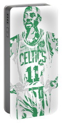 Kyrie Irving Boston Celtics Pixel Art 8 Portable Battery Charger