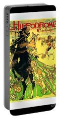 L Hippodrome 1905 Parisian Art Nouveau Poster II Manuel Orazi 1905 Portable Battery Charger