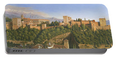La Alhambra Granada Spain Portable Battery Charger
