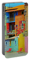 La Boca - Buenos Aires Portable Battery Charger by Juergen Weiss