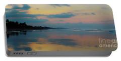 la Casita Playa Hermosa Puntarenas - Sunrise One - Painted Beach Costa Rica Panorama Portable Battery Charger
