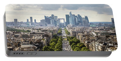 La Defense Paris Portable Battery Charger