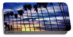 La Jolla Silhouette - Digital Painting Portable Battery Charger