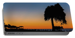 La Jolla Tree Silhouette Img 3 Portable Battery Charger