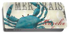 La Mer Shellfish 1 Portable Battery Charger by Debbie DeWitt