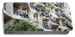 La Pedrera Casa Mila Gaudi  Portable Battery Charger