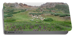 Portable Battery Charger featuring the photograph La Plata Peak by Cascade Colors