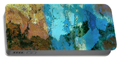 Portable Battery Charger featuring the painting La Playa by Dominic Piperata