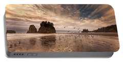 La Push Sunset Portable Battery Charger by Ian Good