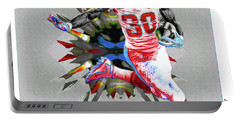La Rams Paint Todd Gurley 5b Portable Battery Charger