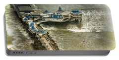 Portable Battery Charger featuring the photograph La Rosa Nautica - Peru by Mary Machare